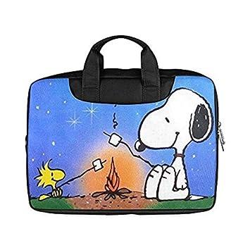 2buymore bolsa Cute Snoopy personalizado ordenador portátil bolsa hombro bolsas/casos de 15,6 (nailon resistente al agua (dos tamaños): Amazon.es: ...