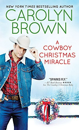 book cover of A Cowboy Christmas Miracle
