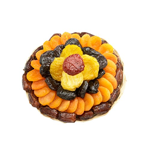 Broadway Basketeers Heart Healthy Floral Dried Fruit (Small) Gift Tray