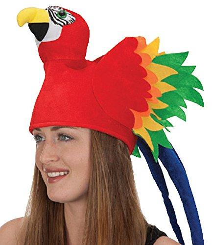 Jacobson Hat Company Velvet Parrot Hat -
