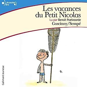 Les vacances du Petit Nicolas | Livre audio