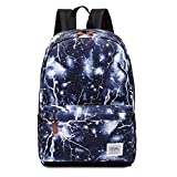 Urmiss Lightning Leaf Lightweight Backpack Cute School Bags Casual Laptop Rucksack Travel Daypack