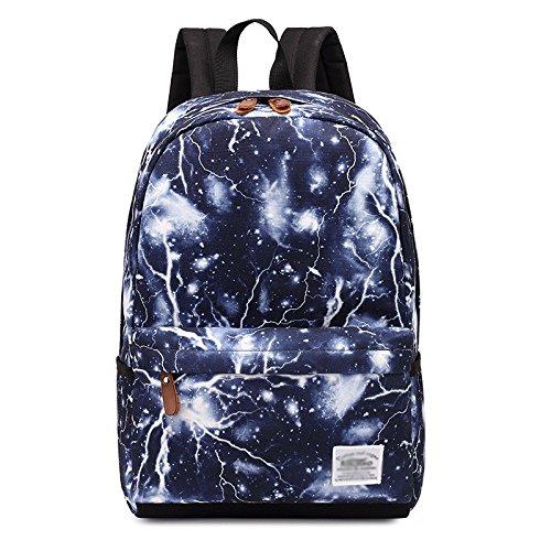 Urmiss Lightning Leaf Lightweight Backpack Cute School Bags Casual Laptop Rucksack Travel Daypack by Urmiss