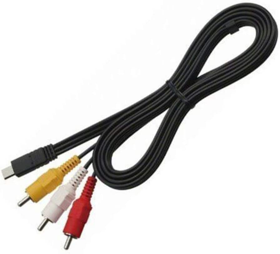 POWE-Tech AV A//V Audio Video RCA TV Cable Cord Lead for Sony Handycam Model HDR-CX400 HDR-CX400E Camcorder Camera