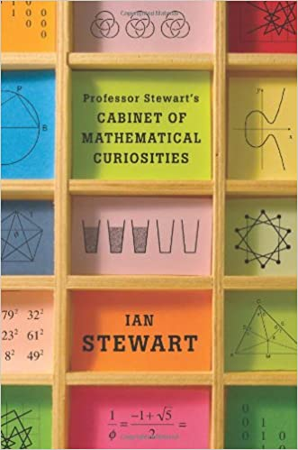 Book cover for professor stewart's cabinet of mathematical curiosities