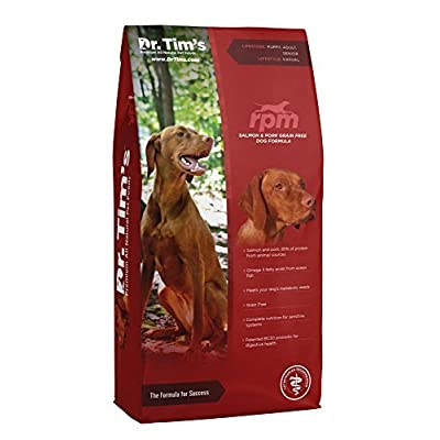 Dr. Tim's Premium All Natural Pet Food RPM Salmon and Pork Grain Free Dog Formula 30#