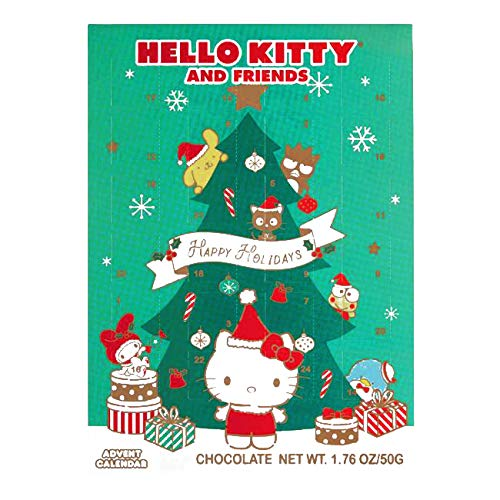 Wawi Chocolates Hello Kitty Advent Calendar 5.6 oz each (2 Items Per Order, not per case) (Best Chocolate In The World 2019)