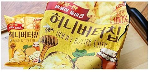 HaiTai Honey Butter Chip 60g * 3ea / Korean Potato Snack (3 bags): Amazon.es: Hogar