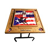 Puerto Rico & Dominican Republic Domino Table Full top