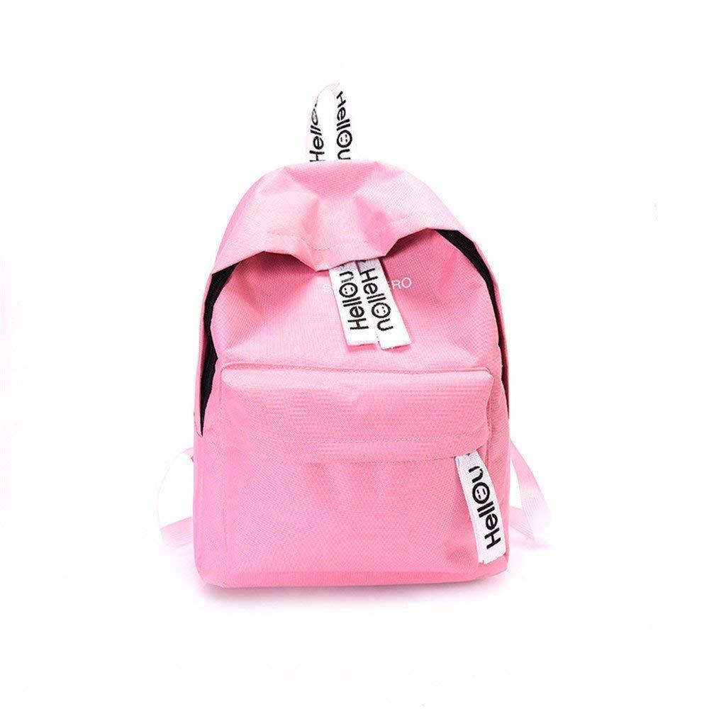 1f96ed54c7 Lounayy Draper The Package School Zaino Da Da Da Viaggio colore Pure Spalle Bambini  Zaino Scuola Borse Moda Borse A Tracolla Doppie (Colore D, ...