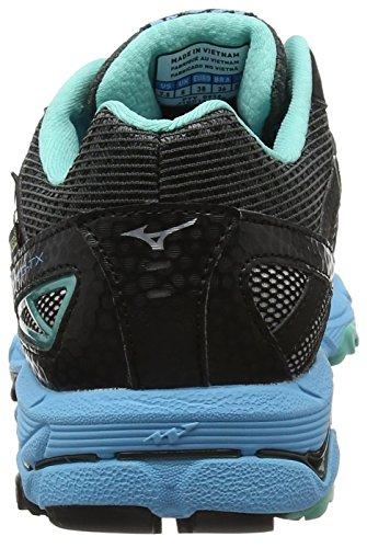 Mizuno Women's Wave Mujin 3 G-Tx (W) Trail Running Shoes Grey (Dark Shadow/Silver/Norse Blue) nAkb02