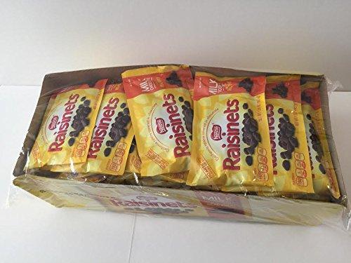 Scs Nestle Raisinets Classic Milk Chocolate and California Raisins of 1.58 Oz - 36 Bags