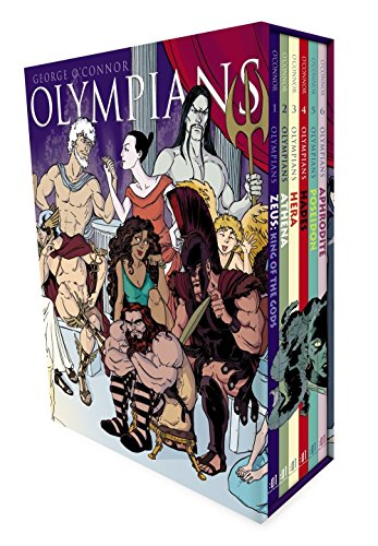Olympians Boxed Set: Zeus, Athena, Hera, Hades, Poseidon & Aphrodite