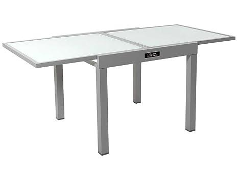 Tavolo da giardino allungabile in alluminio porto phoenix