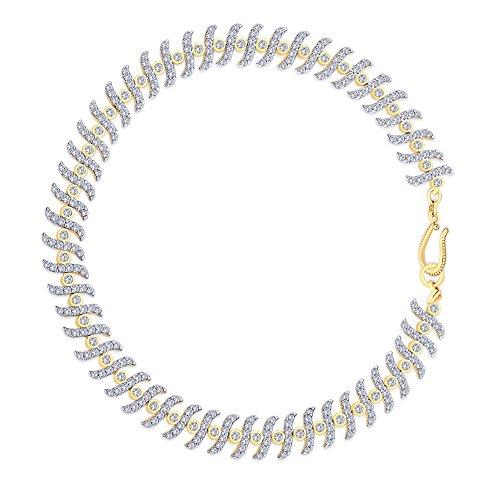 Peora Azeen plaqué or Bracelet AL5G