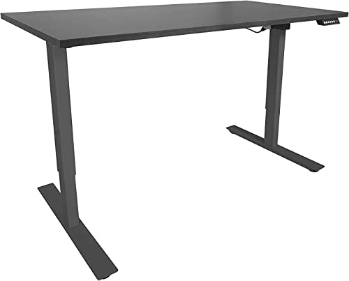 Titan Adjustable Height Electric Motorized Sit to Stand Work Desk 27″ to 46″ A2