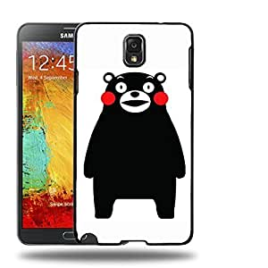 Case88 Designs Kumamon Protective Snap-on Hard Back Case Cover for Samsung Galaxy Note 3