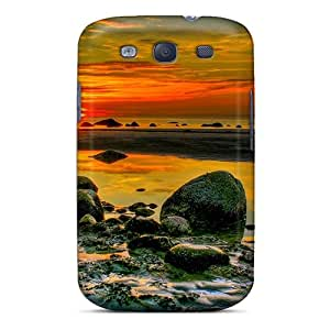 Top Quality Case Cover For Galaxy S3 Case With Nice Superb Sunset Hdr Appearance
