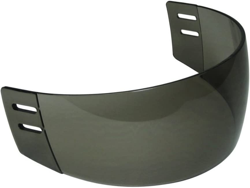 Ronin (TM) R4 Tinted Straight-Cut Hockey Visor (Anti-Scratch/Anti-Fog) : Hockey Masks And Shields : Sports & Outdoors