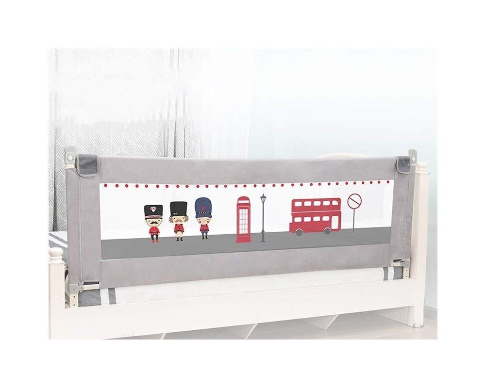 GBY, Inc. Escalera Puerta - Baby Vertical Elevador de Cama barandilla/una Cara Universal/Creativo bebé aplicar - Apto para bebés, Mascotas Seguridad Puertas 150cm: Amazon.es: Bebé