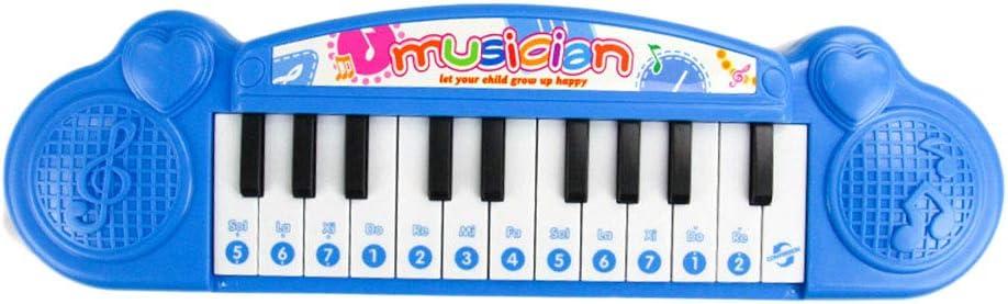 Toyvian Niños Juguetes para Piano Mini Teclado electrónico ...