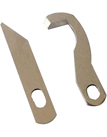 2pc Set Serger Knife Overlock Blade - Upper and Lower - Brother 925D 929D 1034D