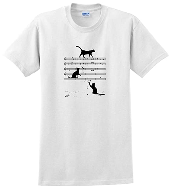 Amazon.com Cat Themed Gifts Cats and Music Notes Musician