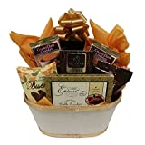Gift Basket with Chocolate Cookies and Cake - for Men and Women by Gifts Fulfilled