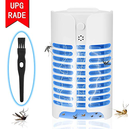 Sherryli Bug Zapper Light, Mosquito Insect Killer, 4W Plug in Electric Indoor Mosquito Trap for Home Yard Garden Patio Office Store by Sherryli