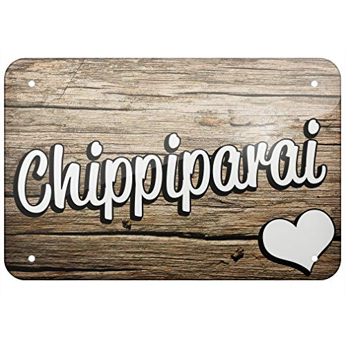 Metal Sign Chippiparai, Dog Breed India TIN Sign 7.8 11.8 inch(L W) (Best Small Breed Dogs For India)