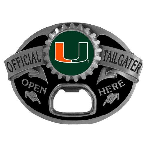 NCAA Miami Hurricanes Tailgater Buckle - Miami Hurricanes Tailgater