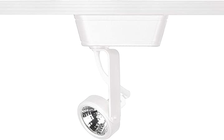 WAC Lighting HHT-180-WT H Series Low Voltage Track Head 50W White H-Track