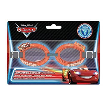 f1945c8811c Disney Cars Neon 3D Character Swimming Goggles  Amazon.co.uk  Toys   Games