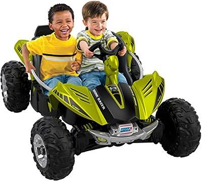 Fisher-Price Power Wheels Dune Racer, Green Vehicle