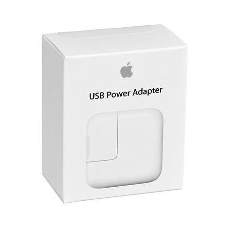 Apple 12W USB - Fuente de alimentación (12W, Interior, Universal, AC-to-DC, Color Blanco)