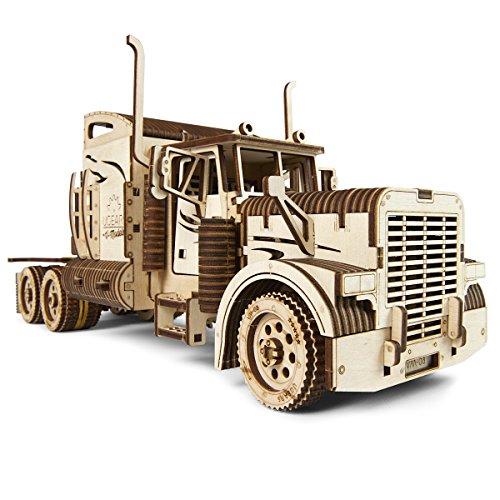 UGEARS Heavy Boy Truck VM-03 Mechanical 3D Model Self Assembling Best Adult Teen Gift