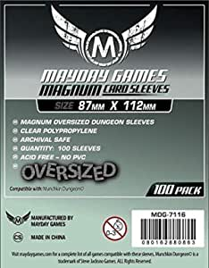 Magnum Oversized Dungeon Sleeves 87 X 112 MM 100