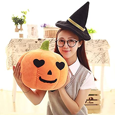 THEE Pumpkin Throw Pillow Sofa Cushion Plush Stuffed Toy