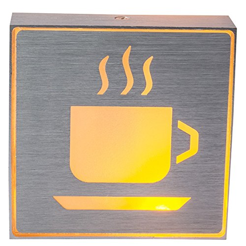 Cartel Tabella LED Bar café taza lámpara luminosa luz ...