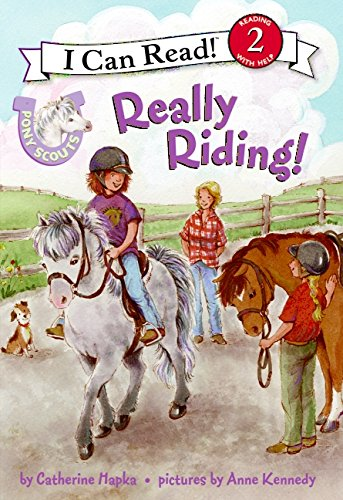 Pony Scouts: Really Riding! (I Can Read Level 2) by Harper Collins (Image #1)