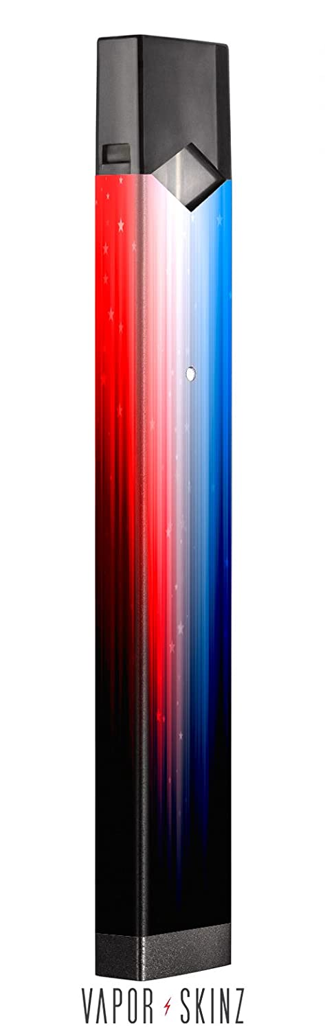 JUUL Decal | JUUL Skin | JUUL Sticker | JUUL Wrap For The JUUL Vape / Red  White and Blue