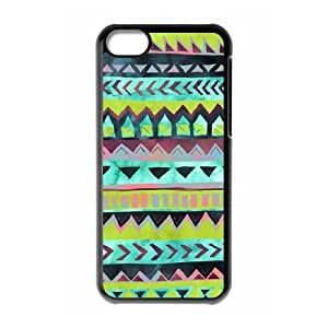 Green Tribal Pattern ZLB556337 Brand New Phone Case for Iphone 5C, Iphone 5C Case