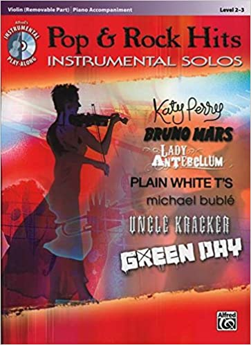 Pop & Rock Hits Instrumental Solos for Strings: Violin, Book