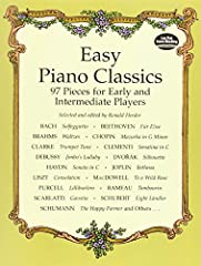 Learning how to play the world's most beautiful classical music has never been easier, because now there is Easy Piano Classics: 97 Pieces for Early and Intermediate Players, the sequel to Ronald Herder's highly suc...