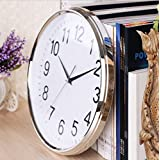 Living Room Hanging Modern Creative Fashion Wall Clock Home Quiet Round Wall Clock Quartz Clock Swing Clock,A6
