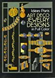 Art Deco Jewelry Designs in Full Color, Idees Staff, 0486276945
