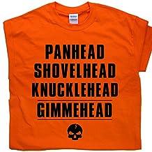Gimmehead Knucklehead Motorcycle T Shirt Offensive Biker Harley Funny Shirtmandude
