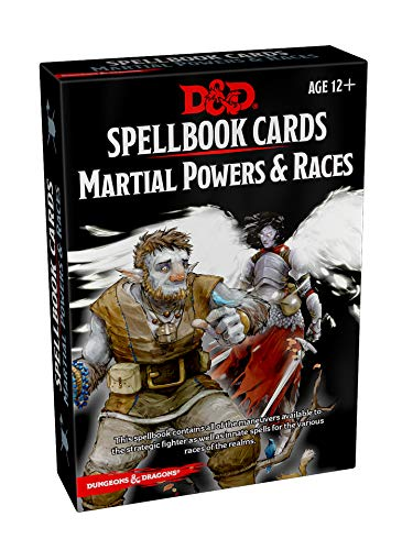 Spellbook Cards: Martial (Dungeons & Dragons) ()