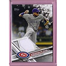 2017 Topps Walmart Holiday Snowflake Relics #RARU Addison Russell - Chicago Cubs