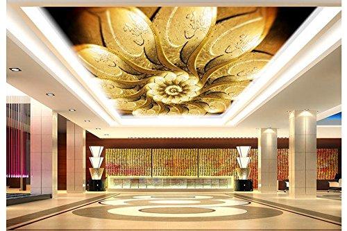 ZLJTYN 270cmX180cm Custom 3D wallpaper Silk cloth wallpaper European-style luxury artistic ceiling zenith wallpaper by ZLJTYN (Image #2)